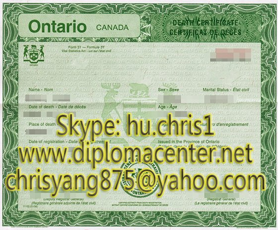 Make Fake Death Certificate Awesome where to Canadian Death Certificates A Diploma