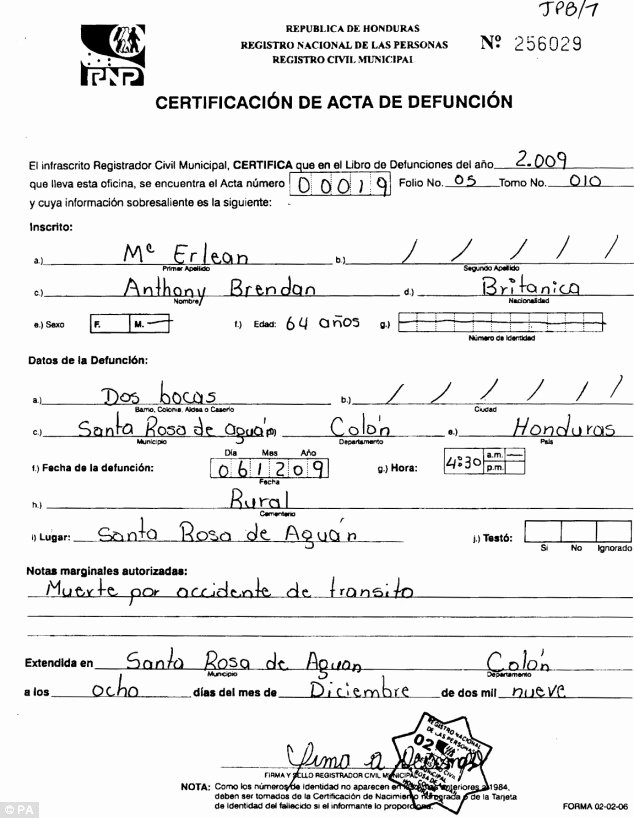 Make Fake Death Certificate Luxury Birth Certificate Template Templates Mob
