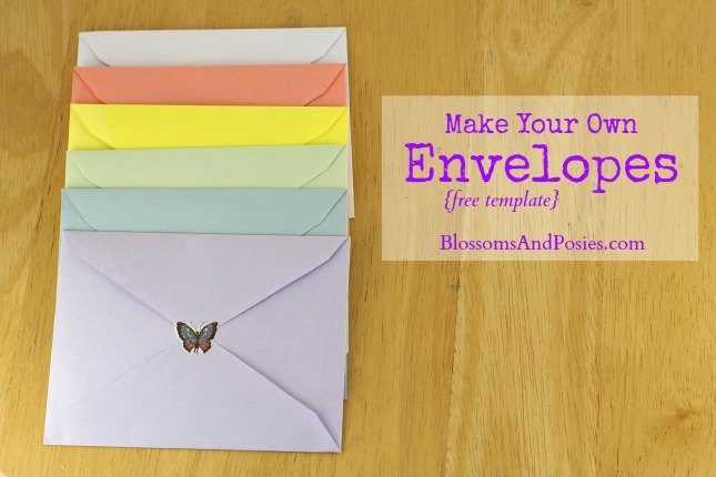 Make Your Own Envelopes Templates Awesome Make Your Own Envelopes Free Template