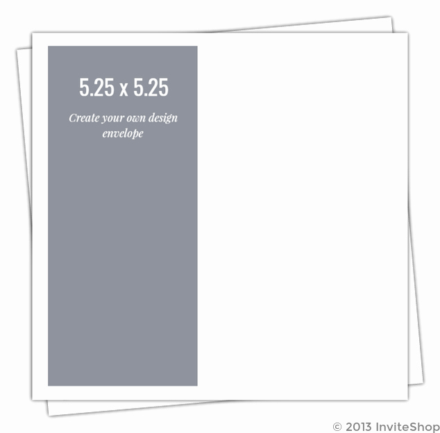 Make Your Own Envelopes Templates Fresh Create Your Own 5 25x5 25 Envelope