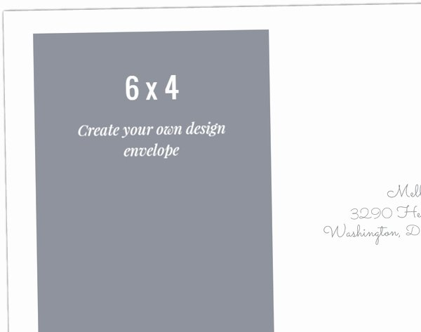 Make Your Own Envelopes Templates Inspirational Create Your Own 6x4 Envelope