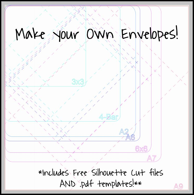Make Your Own Envelopes Templates Inspirational Make Your Own Envelopes