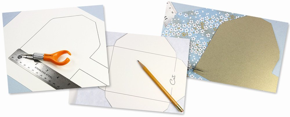Make Your Own Envelopes Templates Lovely Make Your Own Patterned Envelopes Templates & Instructions