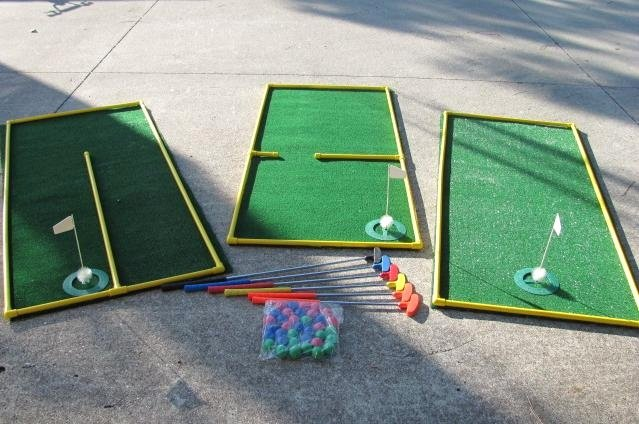 Make Your Own Golf Scorecard Awesome 3 Hole Putt Putt Golf I Want to Figure Out How to Make