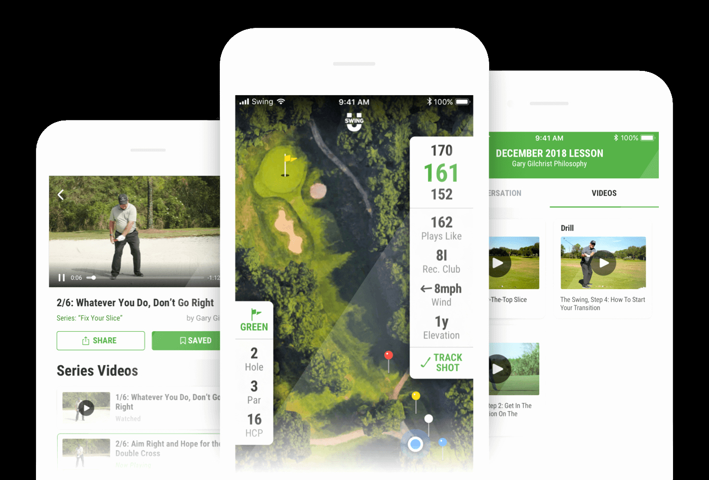 Make Your Own Golf Scorecard Beautiful Golf Gps App & Rangefinder by Swingu