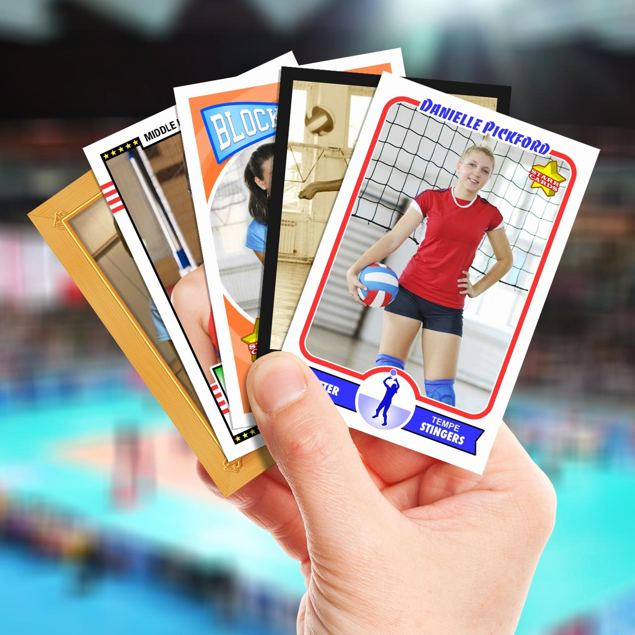 Make Your Own Golf Scorecard Elegant Make Your Own Volleyball Card