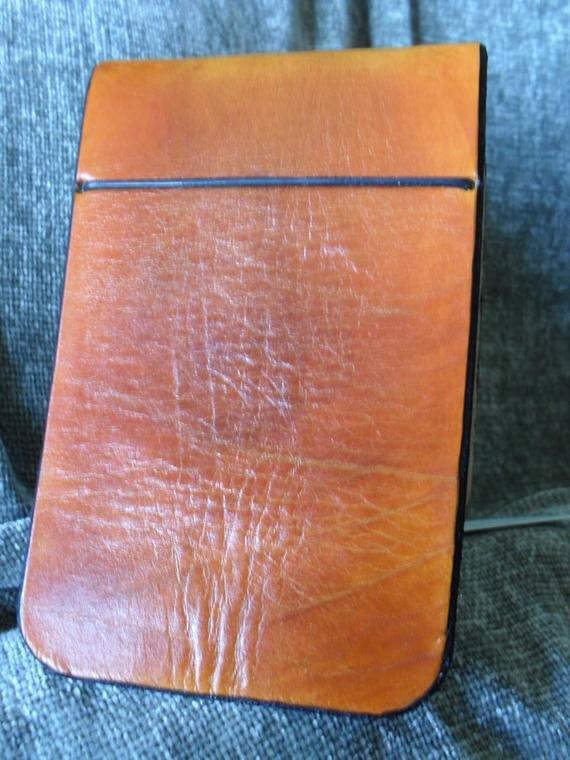 Make Your Own Golf Scorecard Inspirational Hand Made Leather Golf Scorecard and Yardage Book Holder