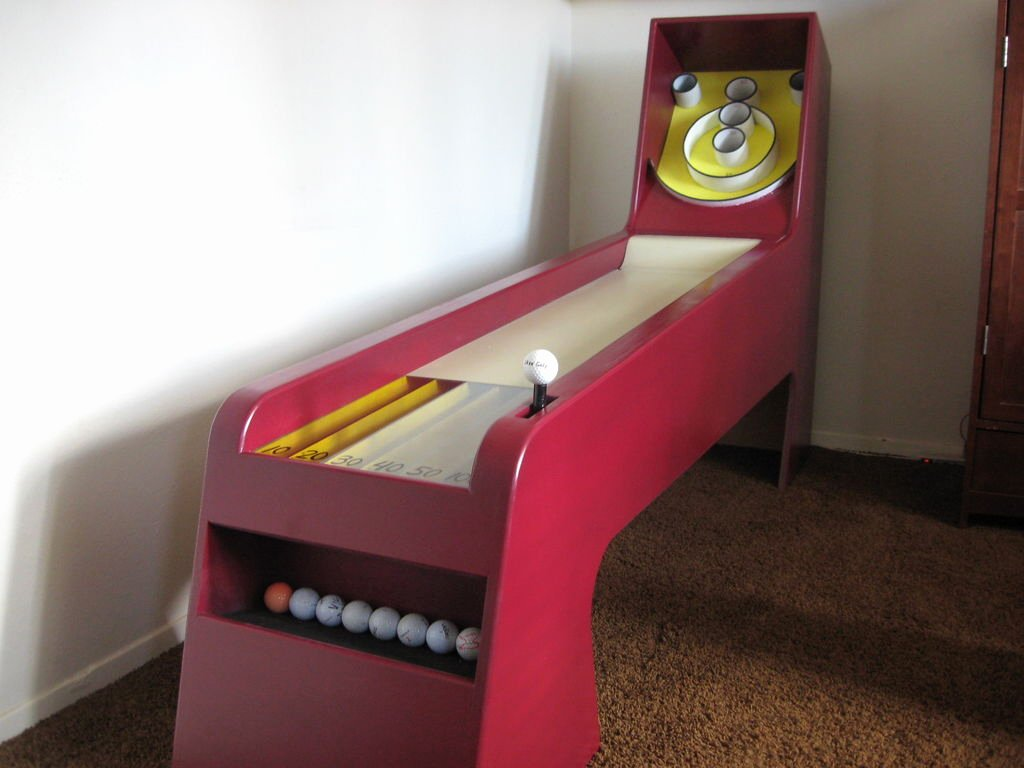 Make Your Own Golf Scorecard Inspirational Homemade Skeeball Game 19 Steps with