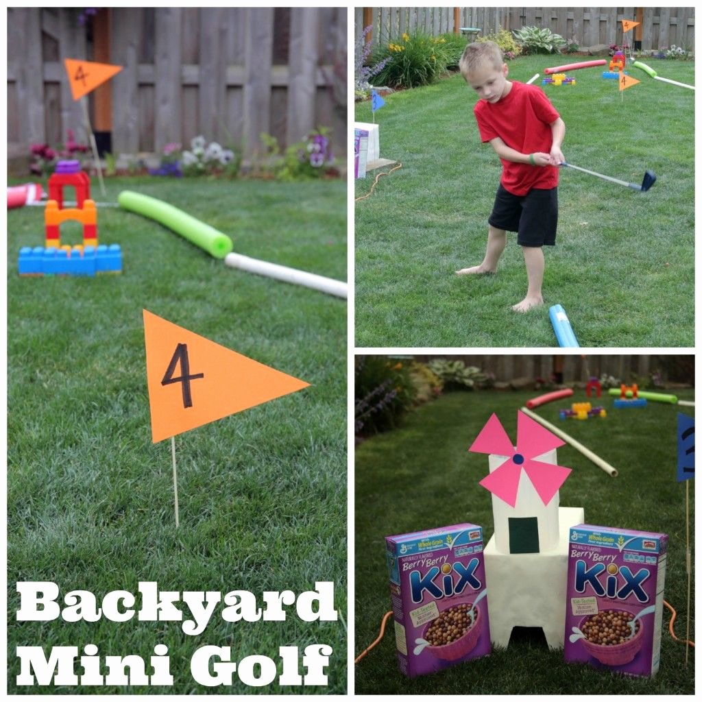 Make Your Own Golf Scorecard Luxury Diy Backyard Mini Golf Kids Our Summer Fun List