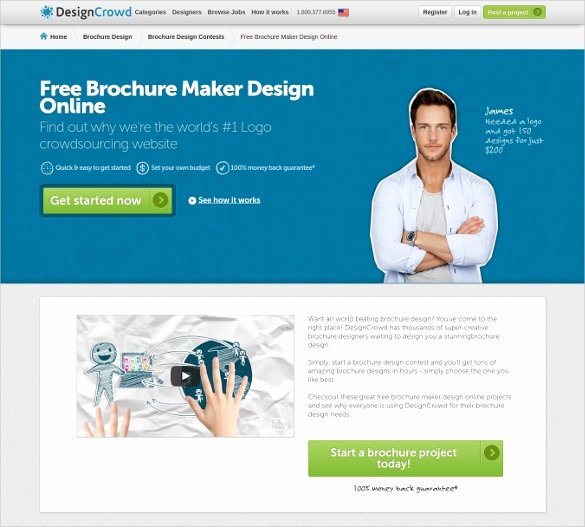 Making A Free Brochure Awesome 23 Free Brochure Maker tools to Create Your Own Brochure