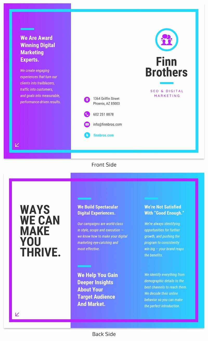 Making A Free Brochure Inspirational 20 Professional Trifold Brochure Templates Tips