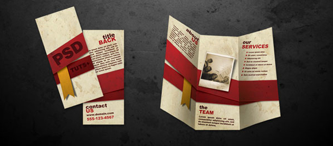 Making A Free Brochure Lovely How to Create Folded Brochure Like In Photoshop Graphic