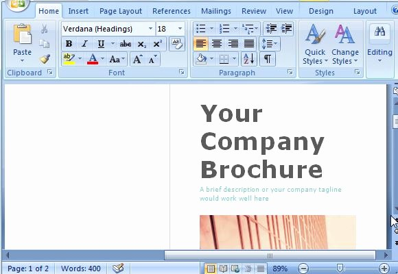 Making A Free Brochure New Free Brochure Maker Template for Ms Word