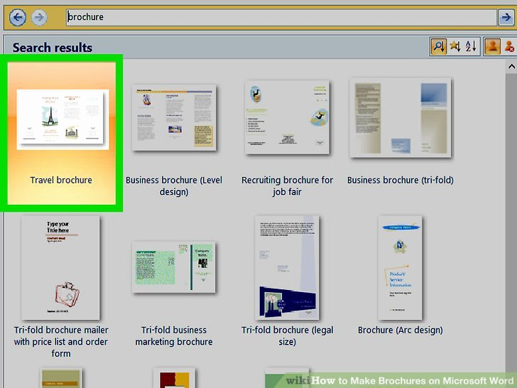 Making A Free Brochure Unique How to Make Brochures On Microsoft Word with