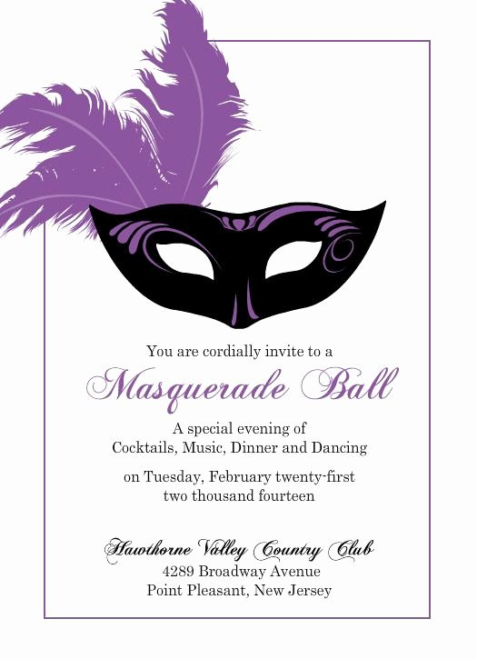 Mardi Gras Invitation Template Free Best Of Flashy Purple Mask Mardi Gras Invitation by Purpletrail