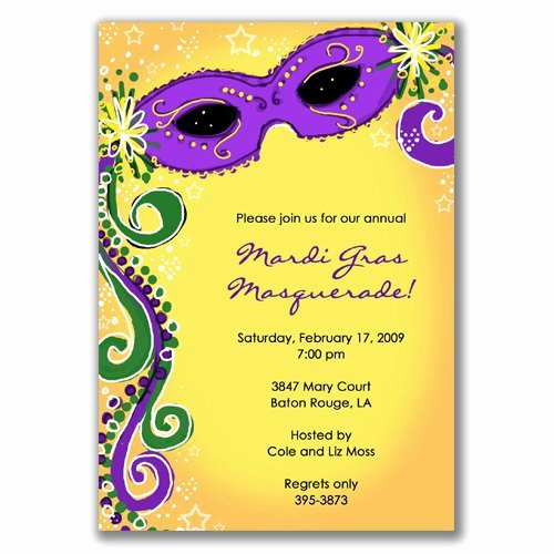 Mardi Gras Invitation Template Free Inspirational Blank Masquerade Invitations