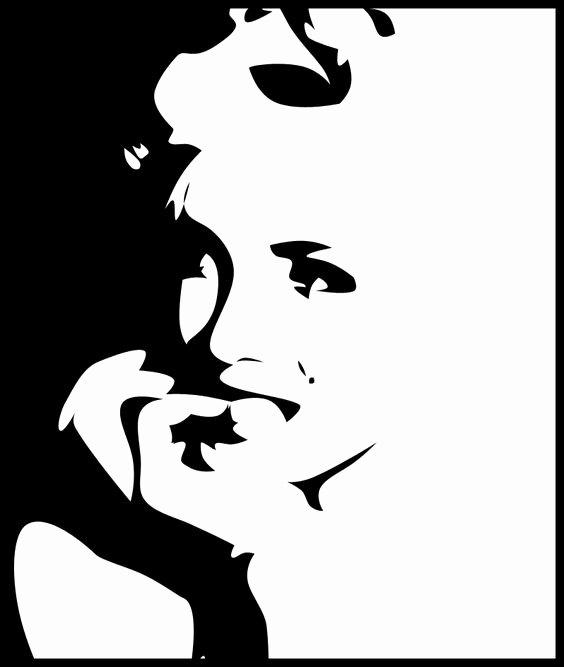 Marilyn Monroe Stencil Art Beautiful Marilyn Monroe by A0x
