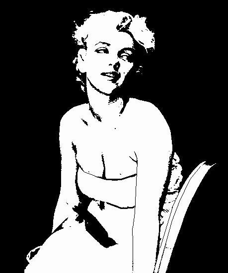 Marilyn Monroe Stencil Art Elegant Marilyn Monroe Stencil by Kerblotto On Deviantart