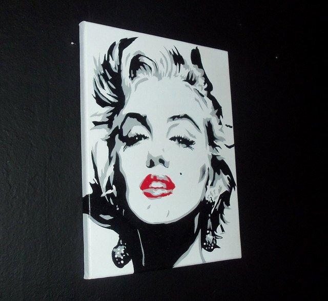 Marilyn Monroe Stencil Art Inspirational 22 Best Marilyn Monroe Art Images On Pinterest