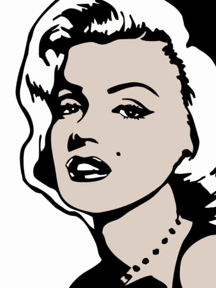 Marilyn Monroe Stencil Art Lovely 29 Best Silhouette Cameo Marilyn Images On Pinterest
