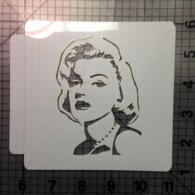 Marilyn Monroe Stencil Art Luxury Marilyn Monroe Stencil 100