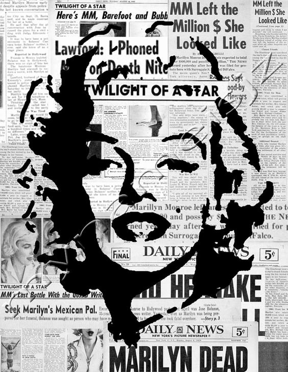 Marilyn Monroe Stencil Template Beautiful Art Styles Style and Stencils On Pinterest