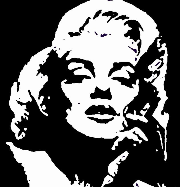 Marilyn Monroe Stencil Template Lovely 85 Best Stencils Images On Pinterest