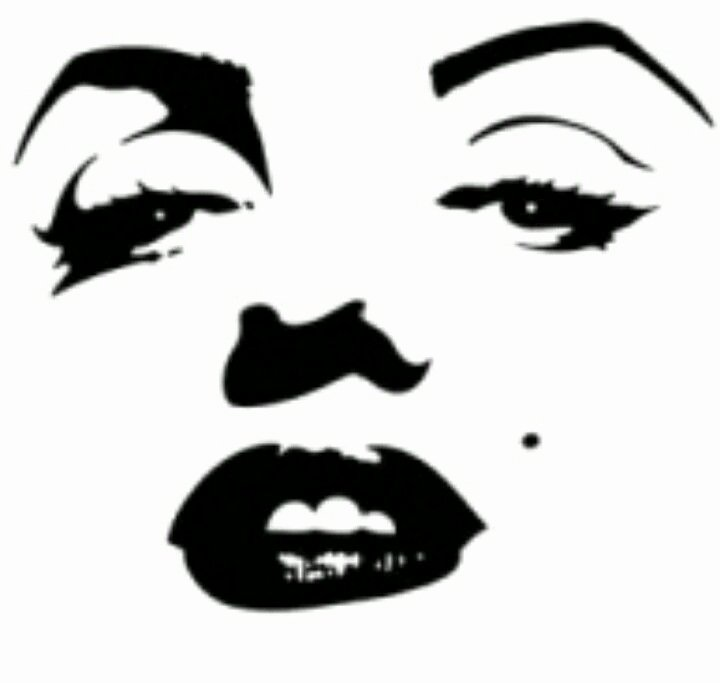 Marilyn Monroe Stencil Template New Pin by Wendy Spencer Zanardo On Marilyn the One & Only