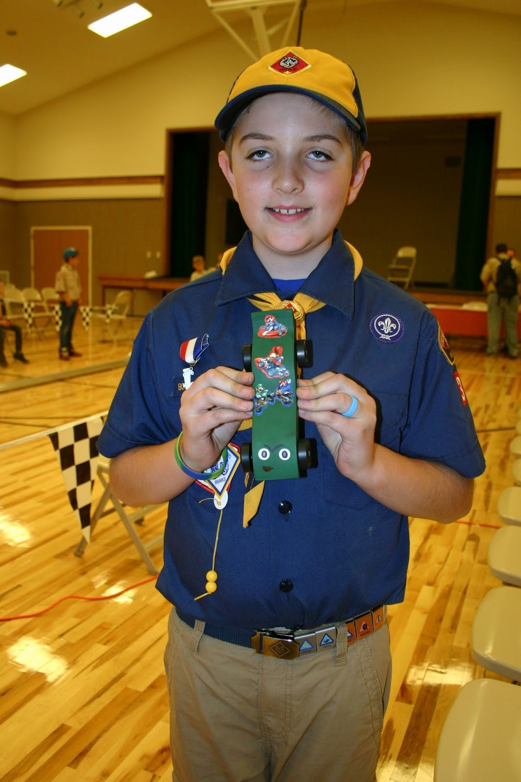Mario Pinewood Derby Car Awesome Robinson Family Pinewood Derby
