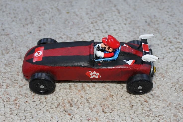 Mario Pinewood Derby Car Best Of 53 Best Pinewood Derby Cars and Tips Images On Pinterest