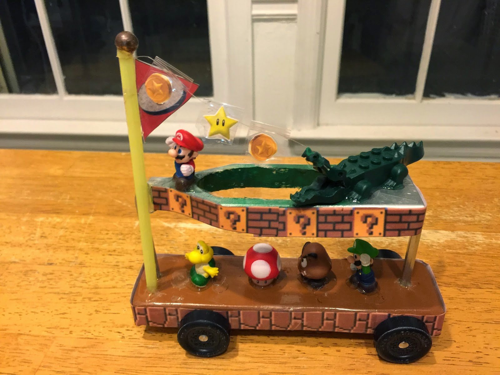 Mario Pinewood Derby Car Best Of Good Knight Times Carson S Pinewood Derby Super Mario