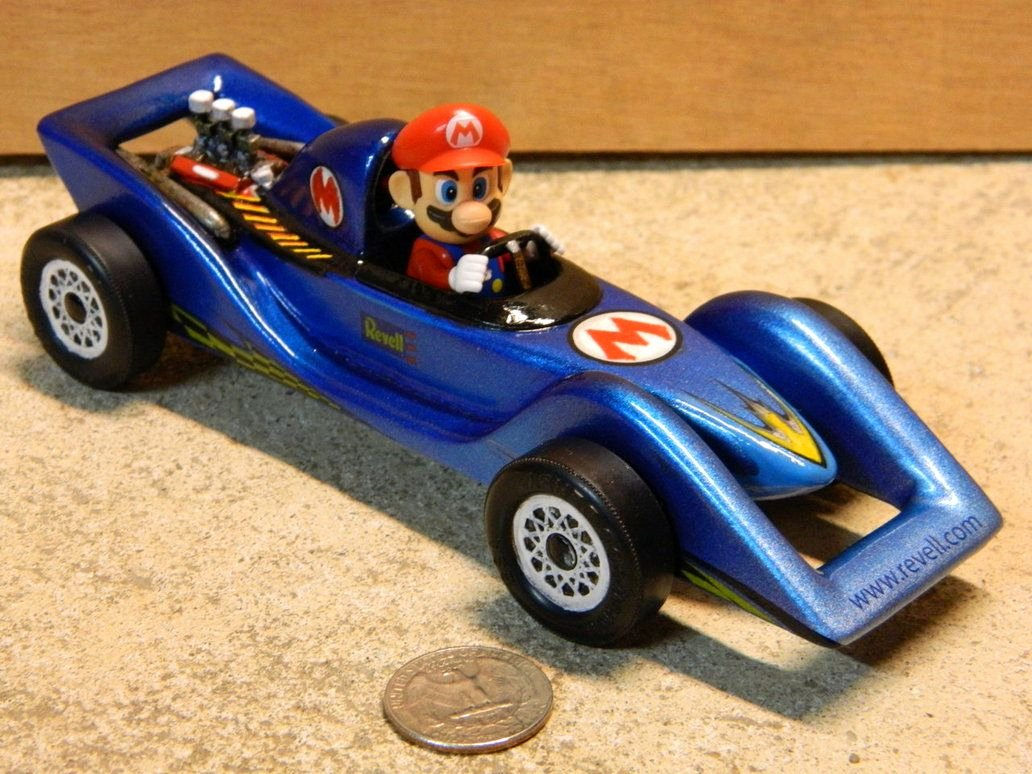 Mario Pinewood Derby Car Fresh Mario Kart Pinewood Derby