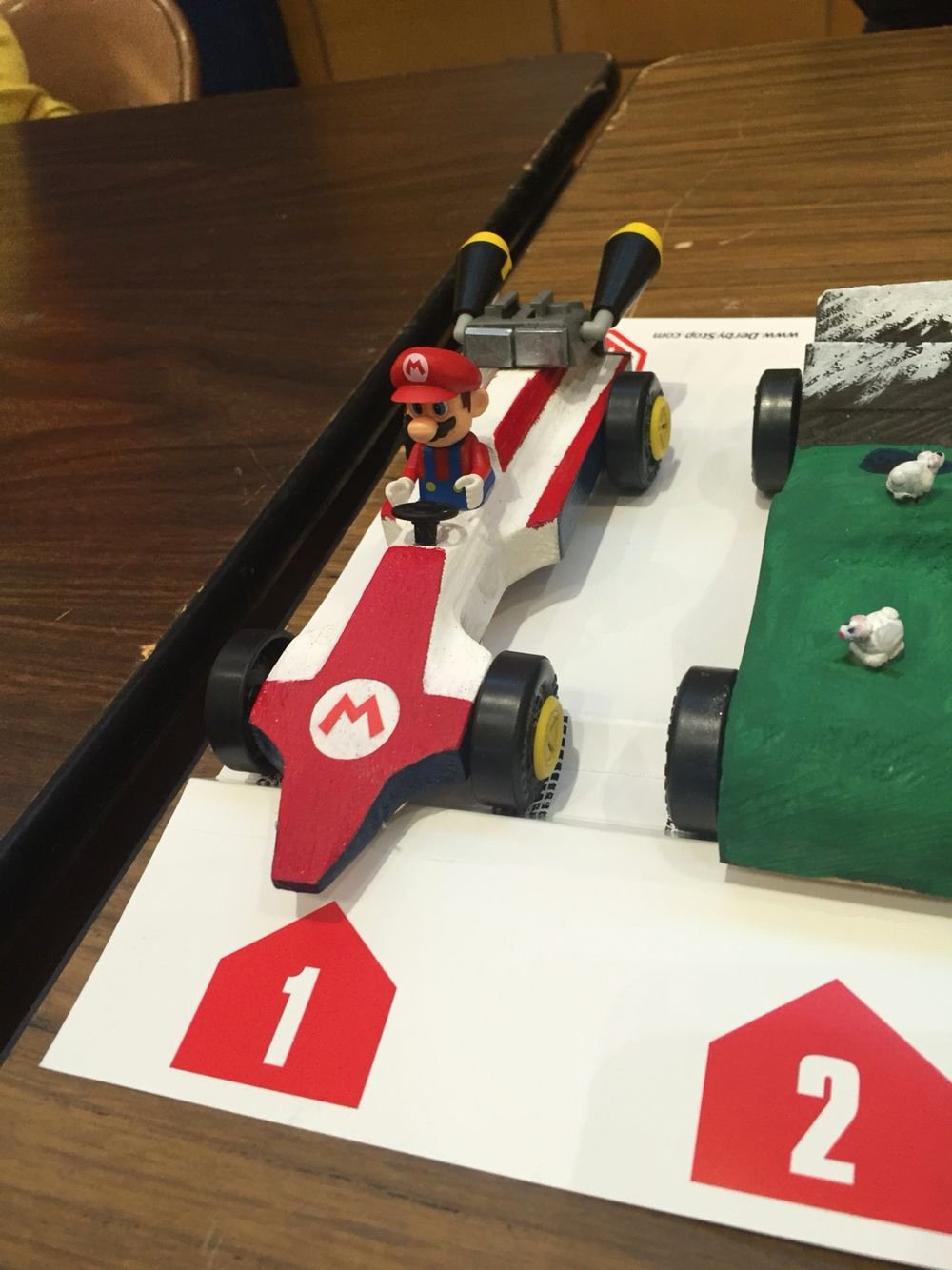 Mario Pinewood Derby Car Inspirational Mario Kart Pinewood Derby Car