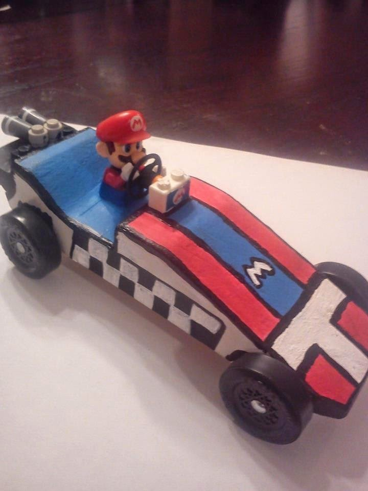 Mario Pinewood Derby Car Lovely Book Wine and Time Cub Scout Pinewood Derby Race Party