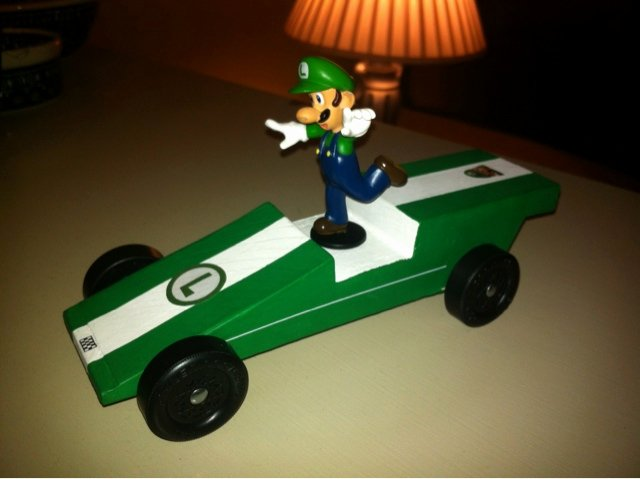 Mario Pinewood Derby Car Luxury Couch Family Pinewood Derby
