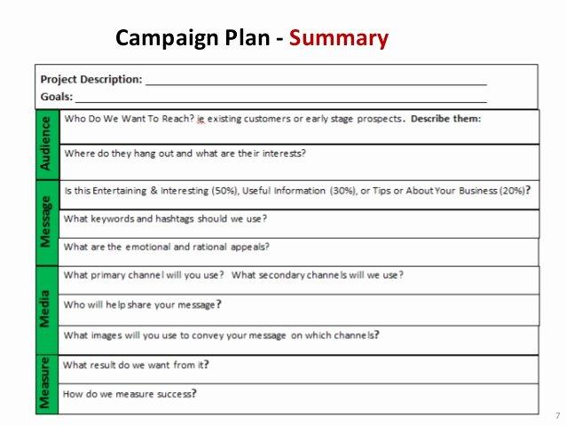 nonprofit marketing campaign template