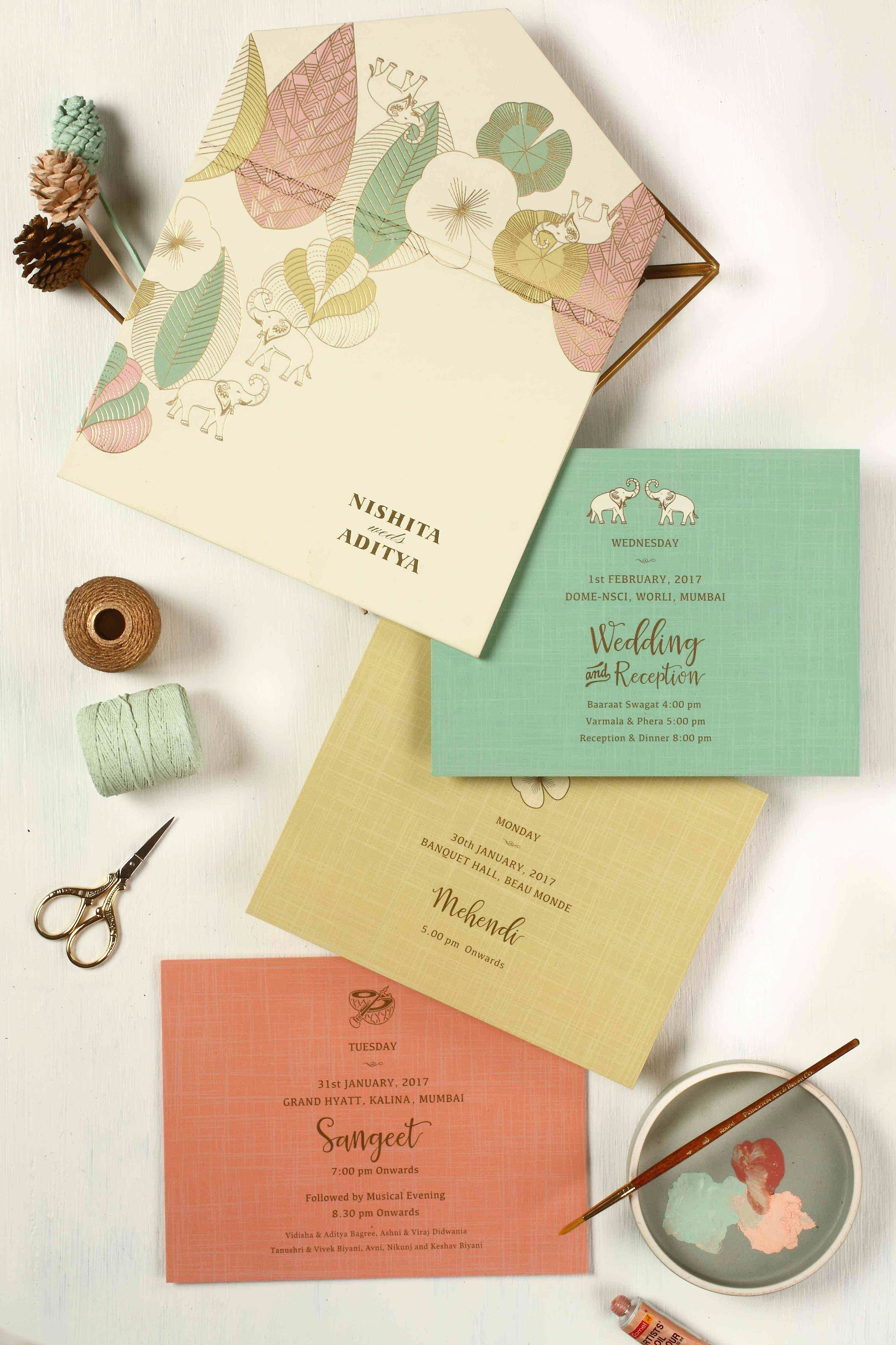 Marriage Invitation Card Design Fresh the Best Indian Wedding Card Designs We Ve Ever Seen