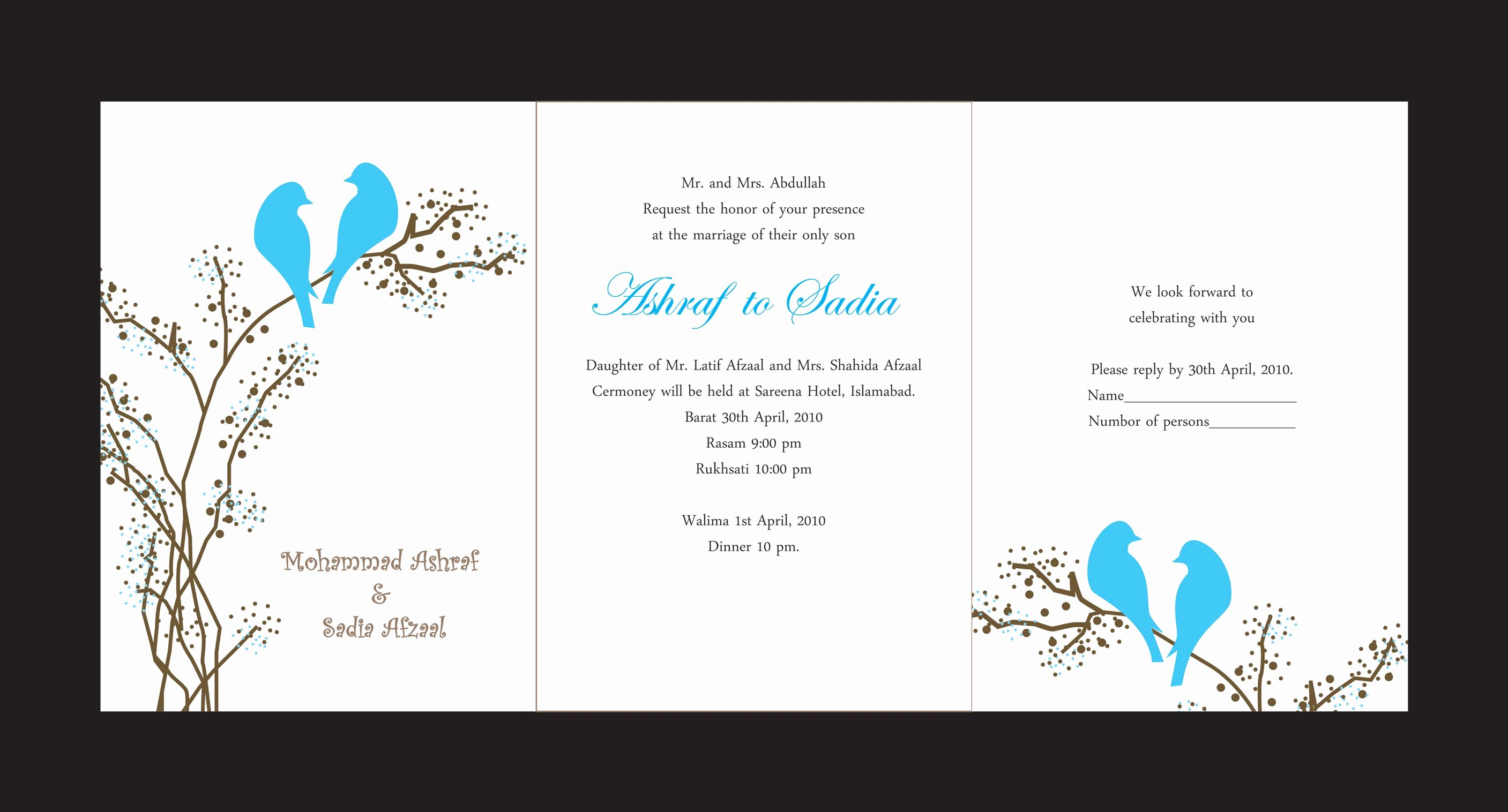 Marriage Invitation Card Design Inspirational Wedding Cards