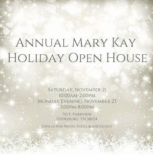 Mary Kay Invitations Template Inspirational Open Invitation for Everyone to Join Our Annual Mary Kay