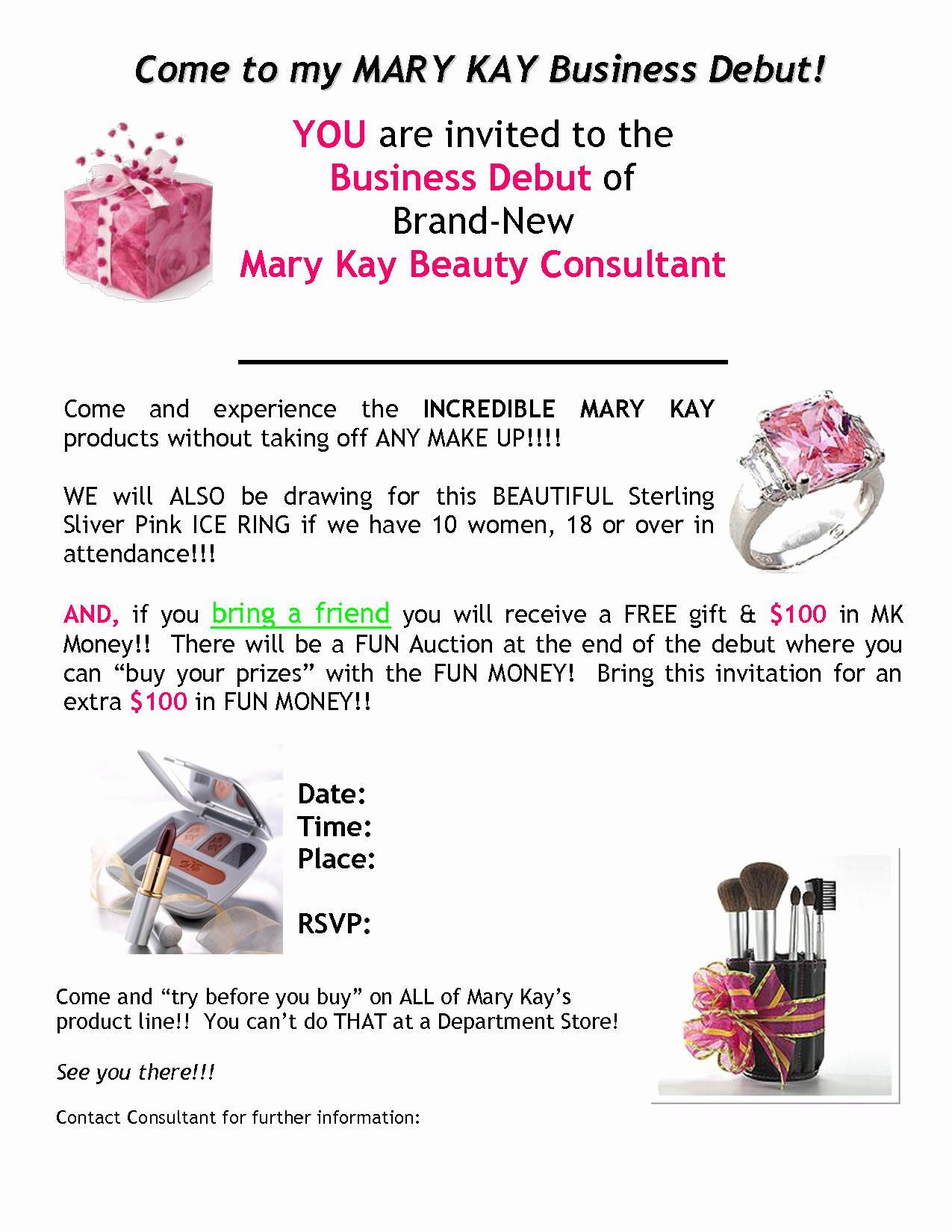 Mary Kay Party Invitation Beautiful Alfa Img Showing Mystery Hostess Clip Art