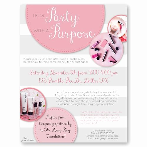 Mary Kay Party Invitation Best Of 1000 Images About Sales Ideas On Pinterest