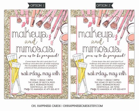Mary Kay Party Invitation Inspirational Limelight Makeup Party Invitation Mary Kay Lipsense