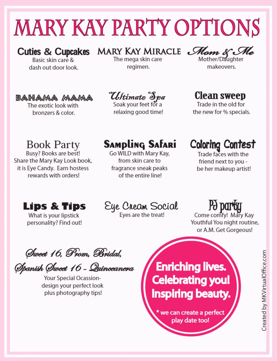 Mary Kay Party Invites Luxury Mary Kay Pajama Party