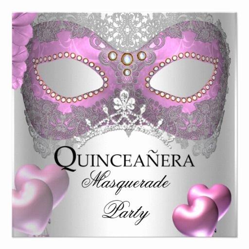 Masquerade Invitations for Quinceaneras Elegant 20 Best Masquerade Invitations for Quinceaneras Images On