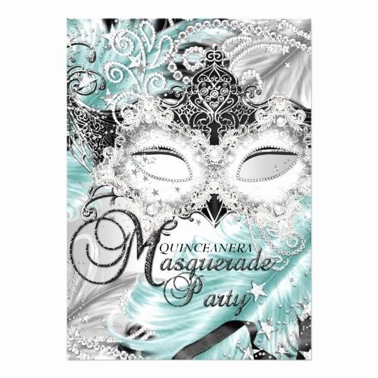 Masquerade Invitations for Quinceaneras Elegant Quinceanera Invitations – Invitations 4 U