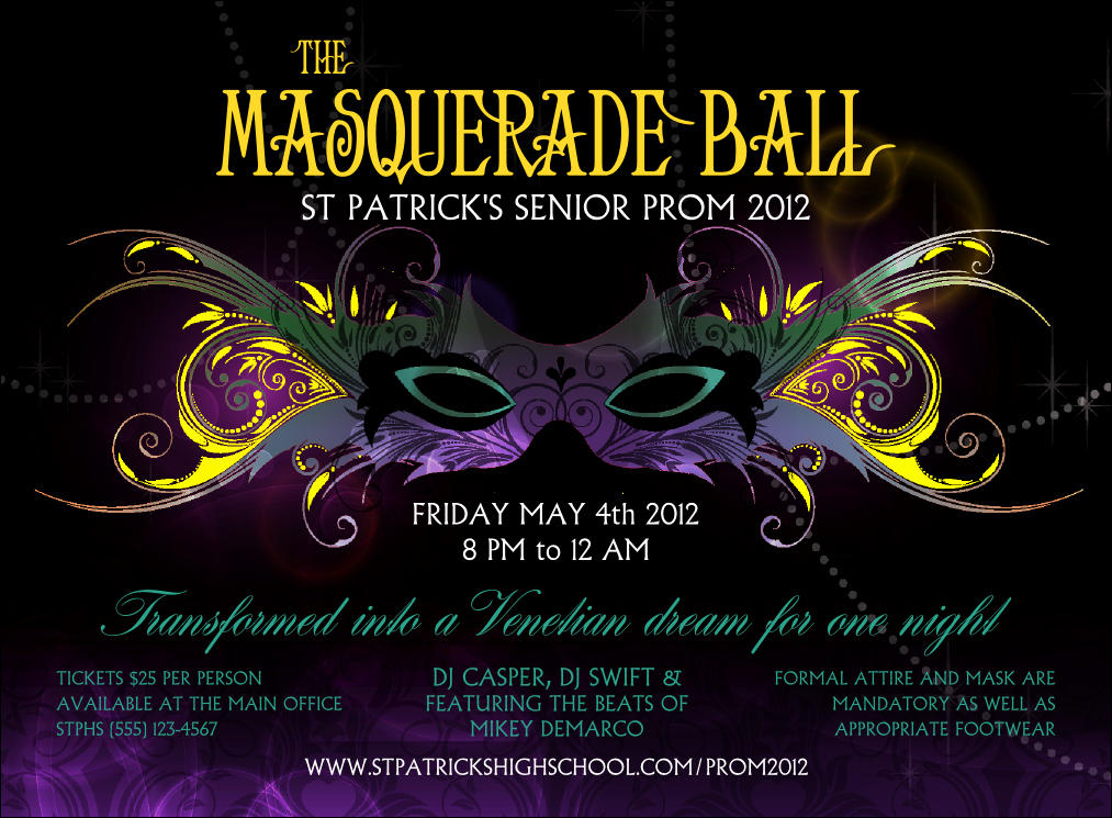 Masquerade Party Invitations Templates Free Best Of Masquerade Ball Invitation