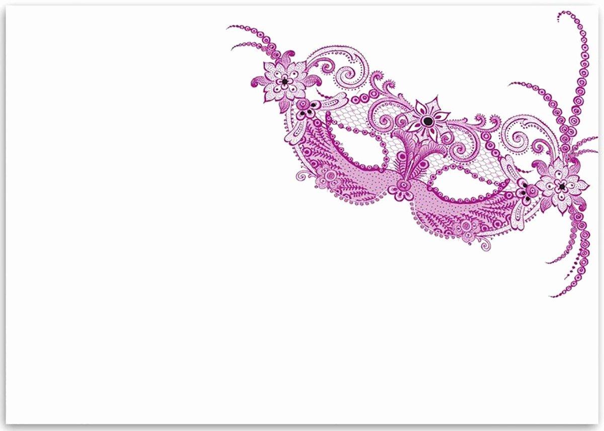 Masquerade Party Invitations Templates Free Inspirational Free Printable Masquerade Invitation Templates