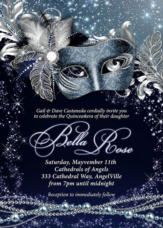Masquerade Party Invitations Templates Free Unique Best 25 Masquerade Invitations Ideas On Pinterest