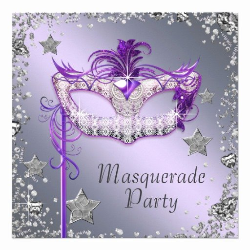 Masquerade Party Invitations Templates Free Unique Personalized Elegant Masquerade Party Invitations