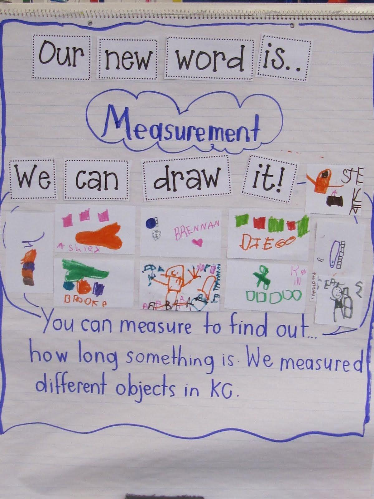 Measuring Chart for Math Inspirational Joyful Learning In Kc Measurement In Kindergarten
